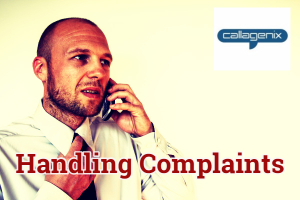 Handle phone complaints